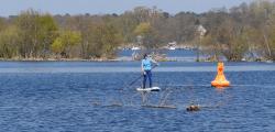 red paddle explorer superflavor sup test gleiten-tv