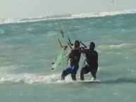 naish kids kitesurf video