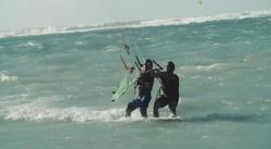 naish kids kitesurf video