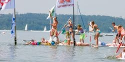 SUP Starnberger See rookie race