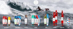 fanatic sup hardboards 2016