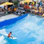 """Joey Kelly eröffnet """"Surf & Style"""" am Flughafen München 2015"""