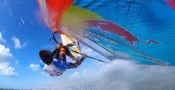 Windsurfer Philip Koester