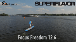 focus sup freedom inflatable sup test superflavor gleiten-tv 12