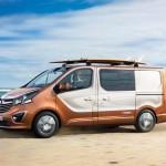 Opel Vivaro Surf Concept Lifestyle-Van