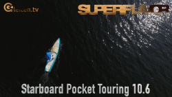 starboard pocket touring sup baord test superflavor gleiten-tv 13
