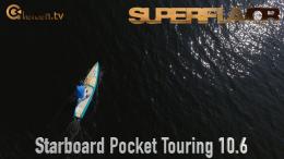 starboard pocket touring sup baord test superflavor gleiten-tv 13