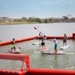 SUP Polo Turnier auf der Boot & Fun Berlin 2015