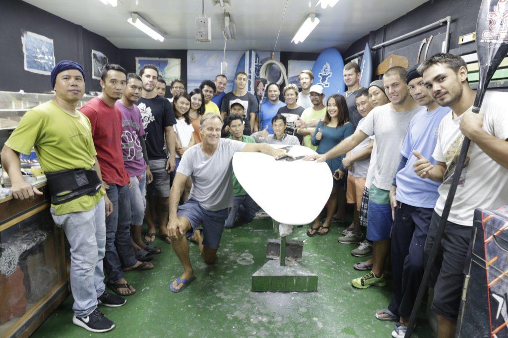 Svein Rasmussen und Starboard Team im HQ