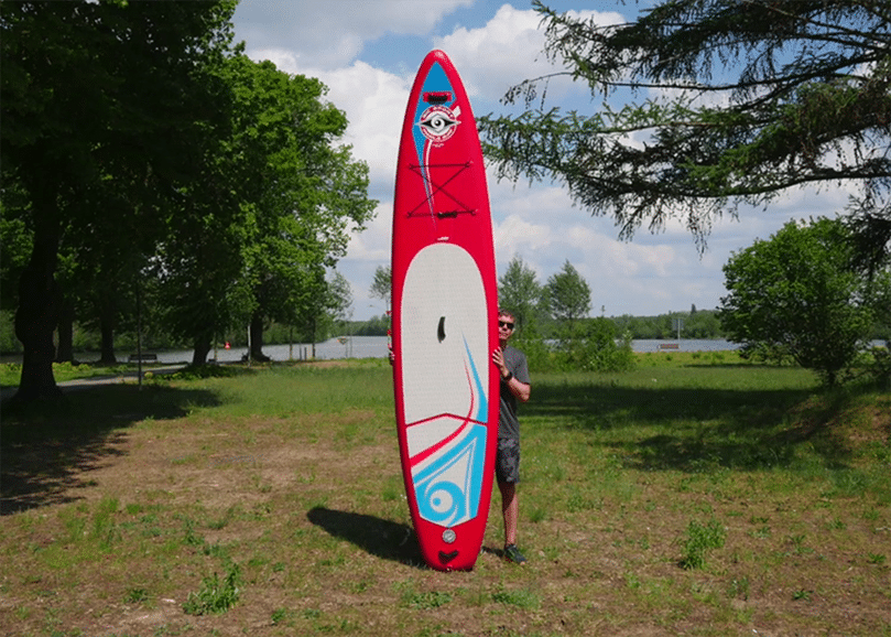BIC SUP Air Touring 12-6 sup test superflavor sup mag 08