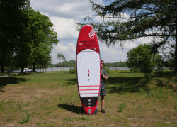 Fanatic Fly Air Premium inflatable sup test superflavor sup mag 09