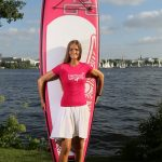 Paddle for Hope am 28.8.2016 in Hamburg