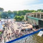 Jever FUN Wake the City auf dem Pangea Festival 2016