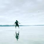 Neuer Trend für den Baggersee – DroneSurfing