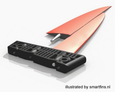 smartfins Aufbau