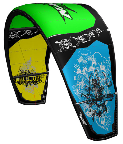 Naish Kite Torch Limited Edition gruen