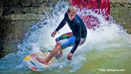 Gerry Schlegel Munich Surf Open 2