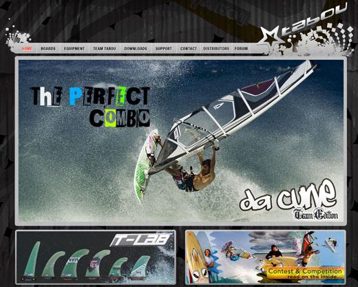 Tabou Website 2010
