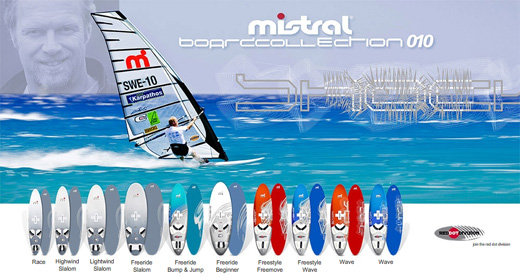 mistral board collection 2010