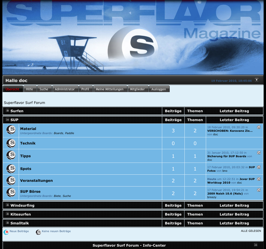 superflavor surf forum