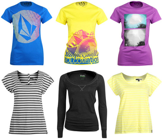 superflavor volcom shirts girls