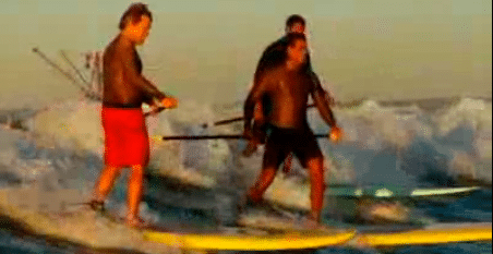 SUP – Tanker Surfing in Texas
