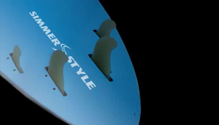 Simmer Style Windsurf Board – Quad Fin