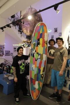 badelatschen surfboard