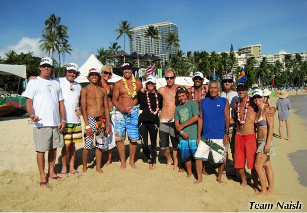 Team Naish dominiert das Battle of the Paddle Hawaii 2011
