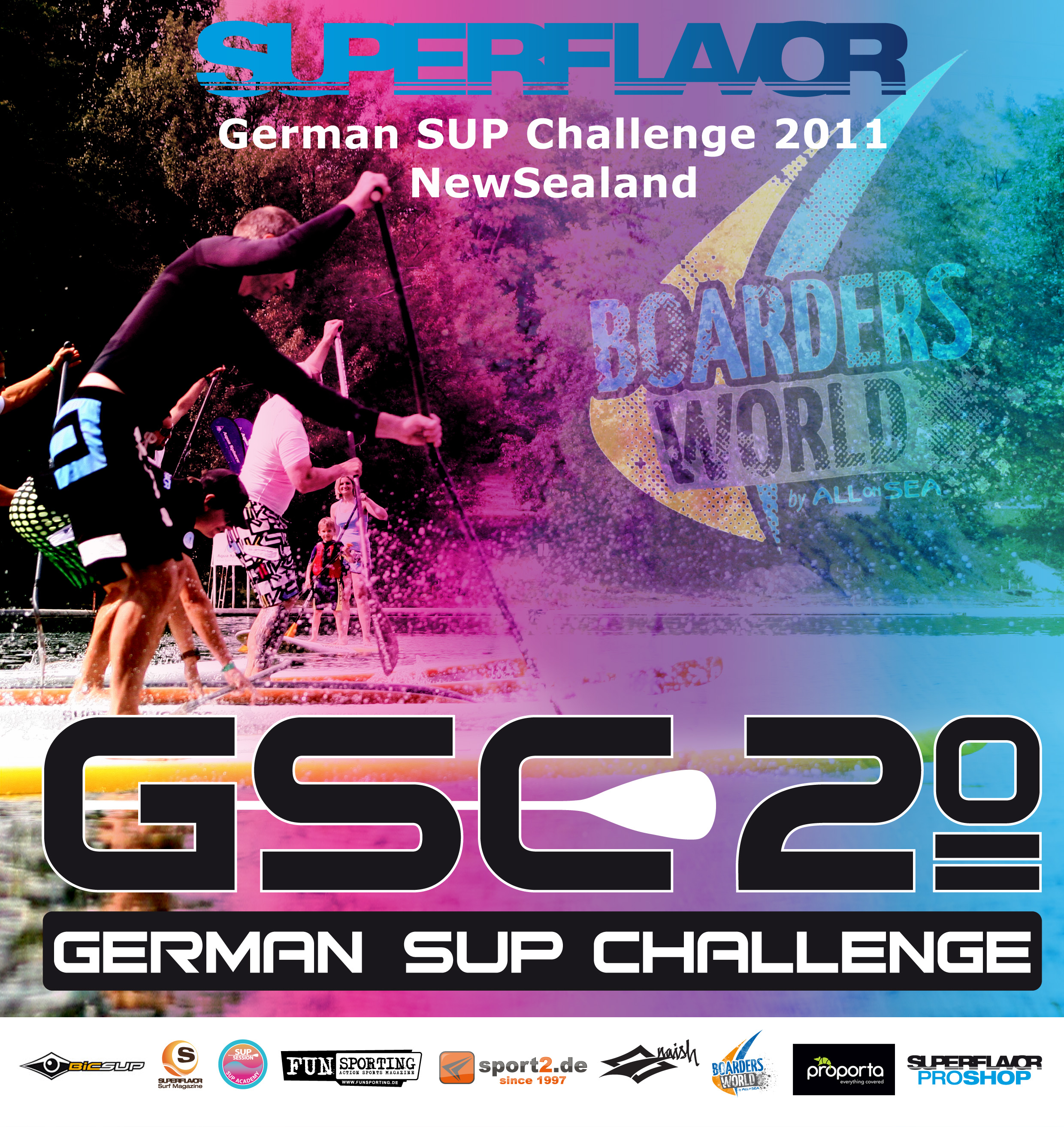 newsealand-german sup challenge flyer