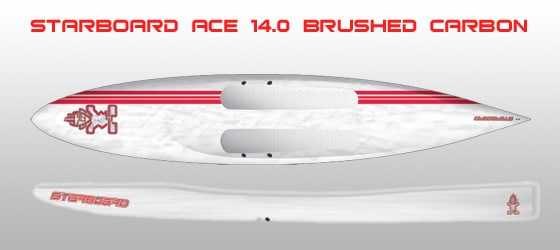 starboard Ace brushed carbon