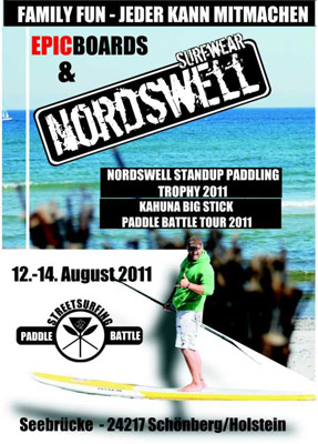 Nordswell SUP Tropy und Kahuna Paddle Battle