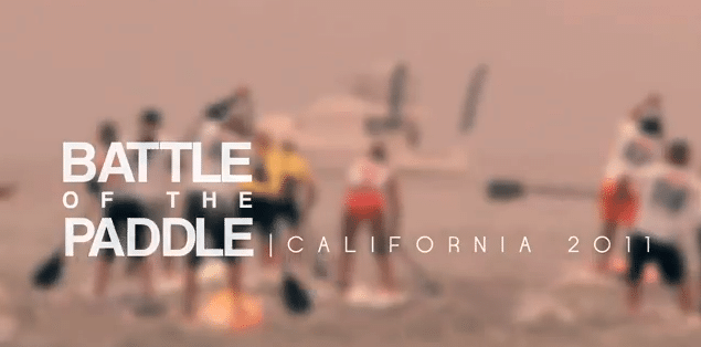 battle of the paddle california