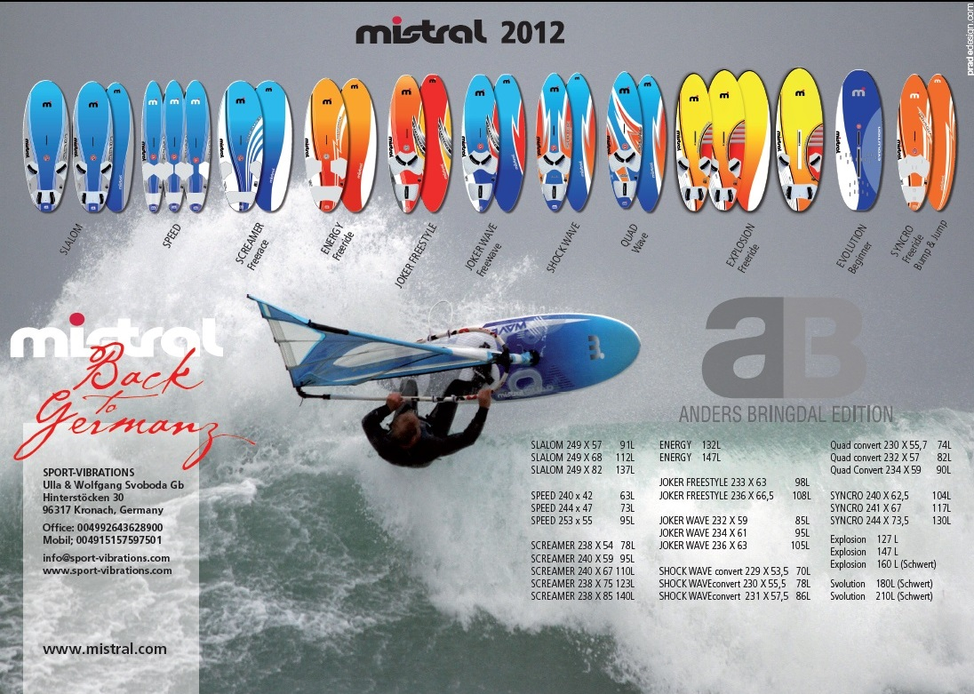 Mistral Windsurfing 012 Sport-Vibrations Preview