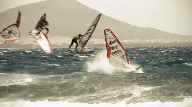 fanatic windsurf action