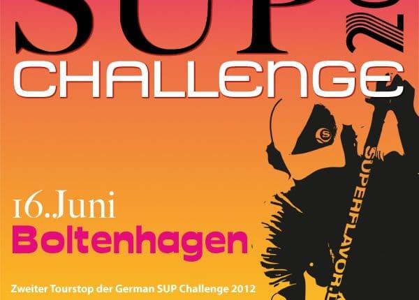 German SUP Challenge 2012 am 16.06. in Boltenhagen