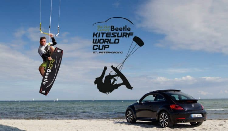 Volkswagen unterstuetzt den Kitesurf World Cup in St. Peter-Ording