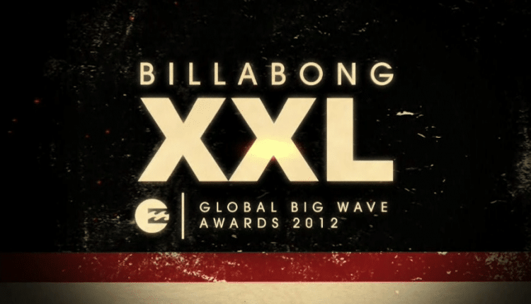 Garrett McNamara den Weltrekord bei den Billabong XXL Global Big Wave Awards 2012