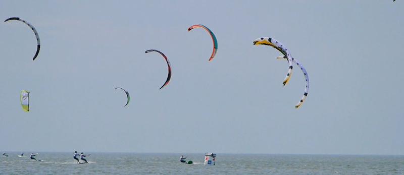 Racing@Beetle Kitesurf Worldcup