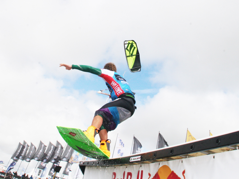 Rick Jensen @ Beetle Kitesurf World Cup 2012 Superflavor 09