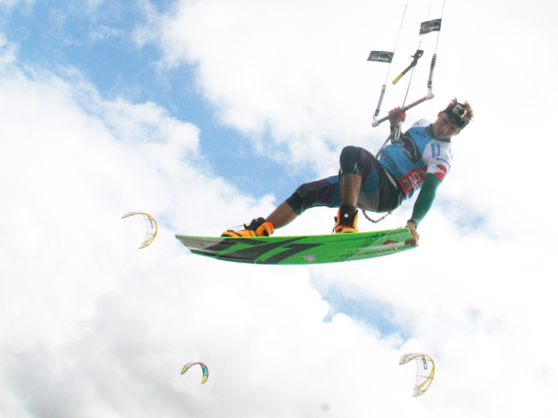 Rick Jensen @ Beetle Kitesurf World Cup 2012 Superflavor 10
