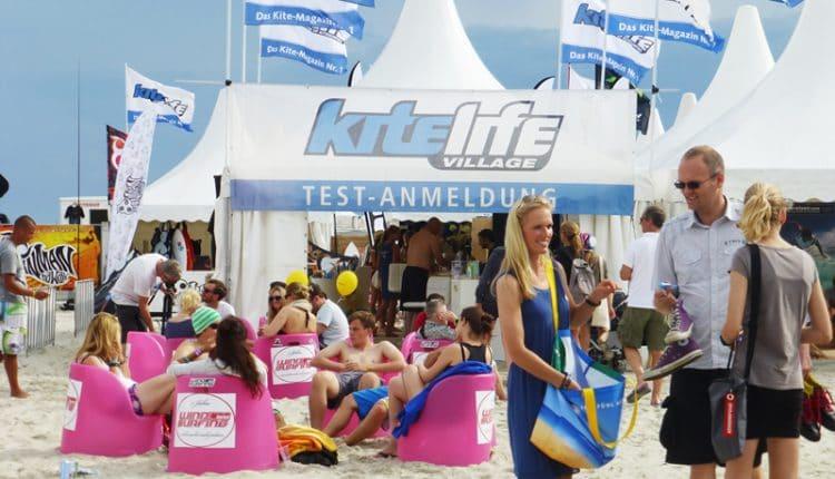 Easy Beachlife am 2. Tag des Beetle Kitesurf World Cups 2012