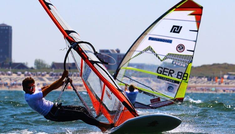 Vincent Langer gewinnt Panasonic Windsurf Cup auf Norderney