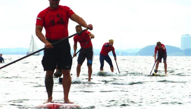 German SUP Challenge 2012 kürt seine Meister in Pelzerhaken