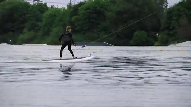 lampuga elektro surfboard