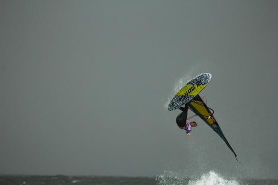 Adam Lewis beim Windsurf World Cup Sylt