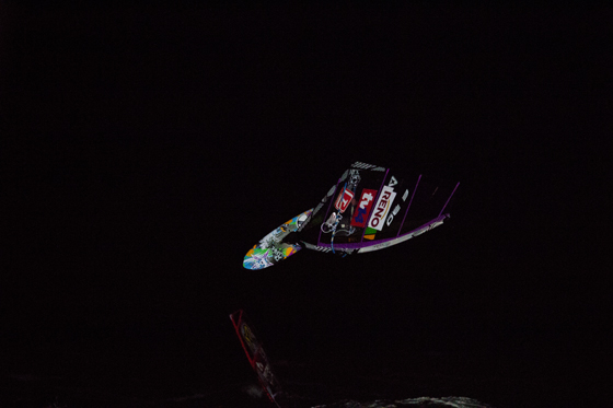 Alex Mussolini_Night Session_Windsurf World Cup 2012