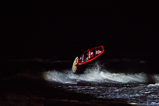 Dany Bruch_Night Session_Windsurf World Cup 2012