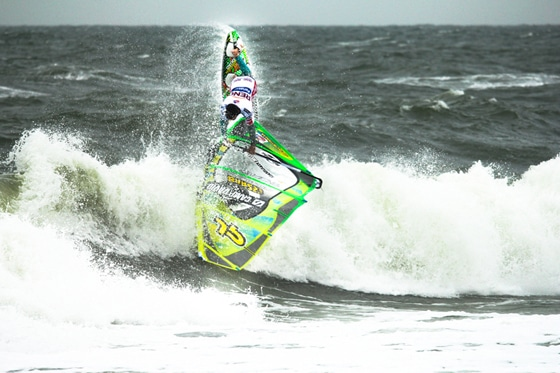 Kauli Seadi beim Windsurf World Cup Sylt