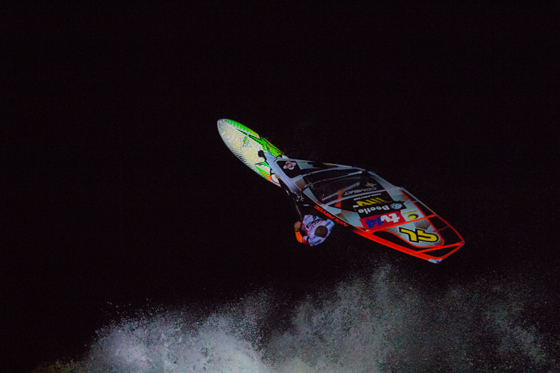 Ricardo Campello_Night Session_Windsurf World Cup 2012-1